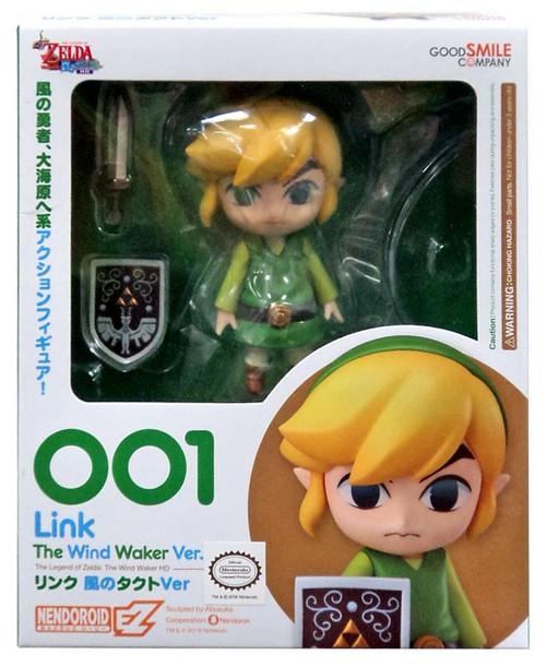 The Legend of Zelda Wind Waker Nendoroid Link Action Figure #001 [Wind Waker, 2016]