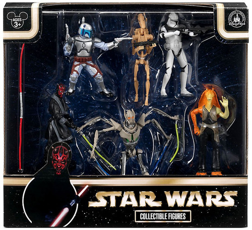 Disney Star Wars Prequel Collection Exclusive Figure 6-Pack