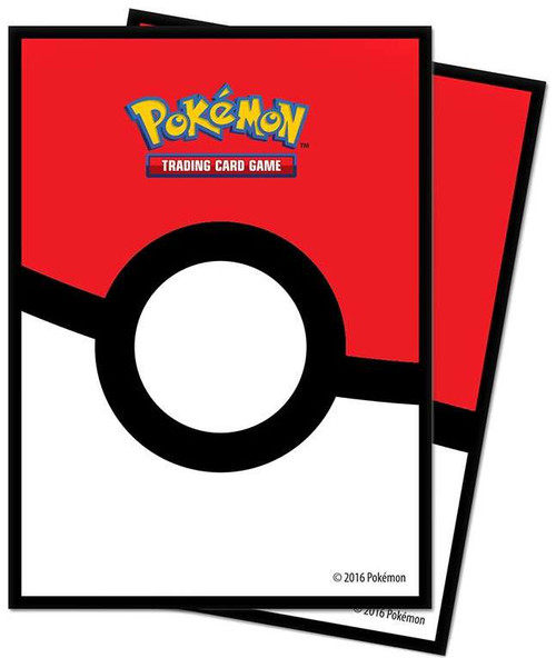 Ultra Pro Pokemon Trading Card Game Poke Ball Card Sleeves [65 Count]