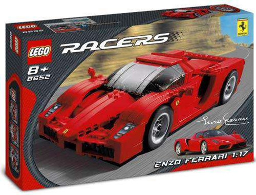 LEGO Racers Enzo Ferrari 1:17 Set #8652 [Damaged Package]