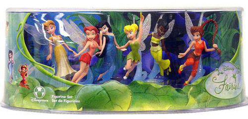 Disney Fairies Figurine Set Exclusive [Damaged Package]