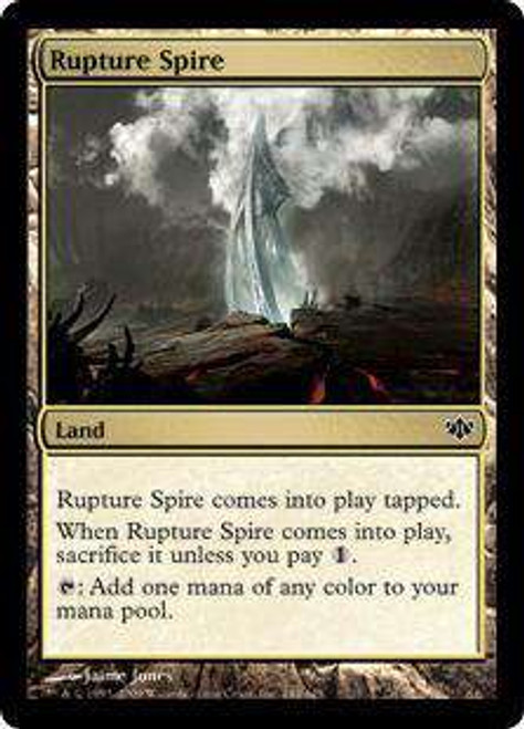 MtG Conflux Common Foil Rupture Spire #144