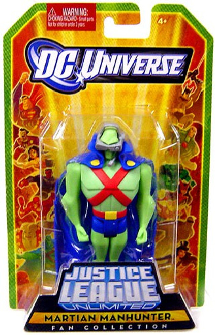 DC Universe Justice League Unlimited Fan Collection Martian Manhunter Action Figure [All Green]