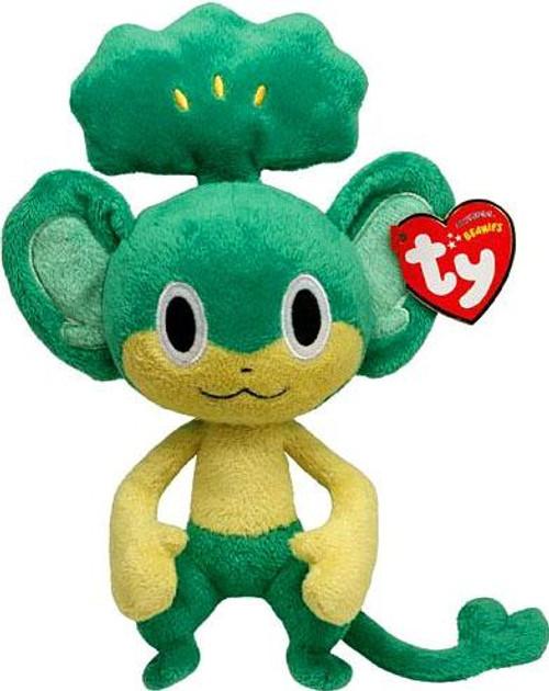 Pokemon Beanie Baby Pansage 6-Inch Plush