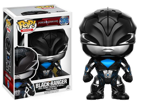 Funko Power Rangers POP! Movies Black Ranger Vinyl Figure #396