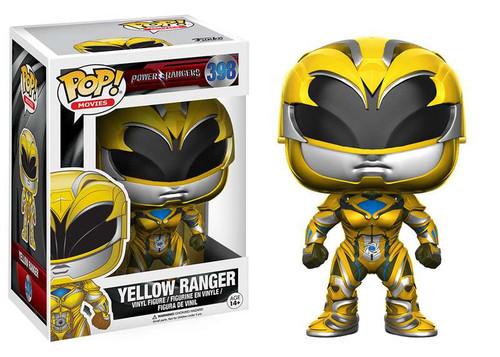 Funko Power Rangers POP! Movies Yellow Ranger Vinyl Figure #398