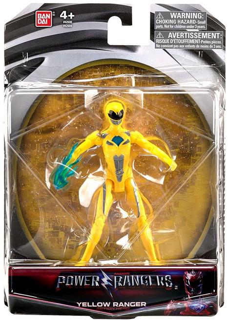 Power Rangers Movie Yellow Ranger Action Figure