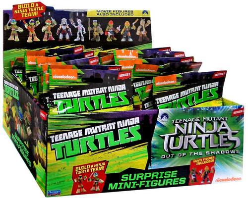 Teenage Mutant Ninja Turtles Out of the Shadows Series 1 Mini Figure 2-Inch Mystery Box [24 Packs]