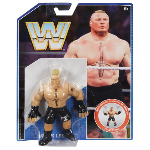 WWE Wrestling Retro Brock Lesnar Exclusive Action Figure