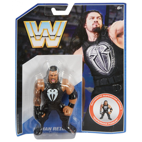 WWE Wrestling Retro Roman Reigns Exclusive Action Figure