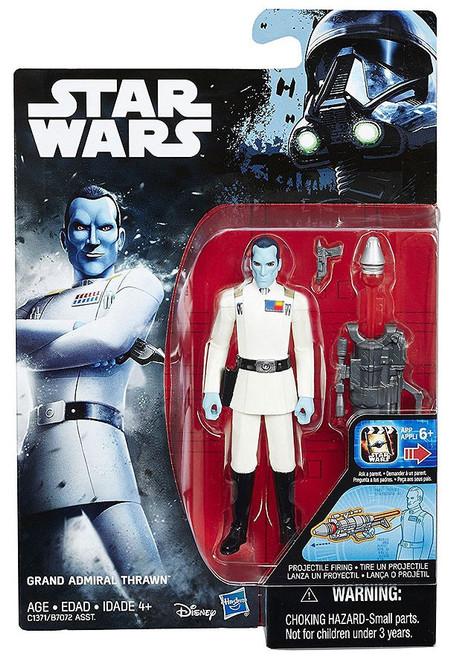 Star Wars Rebels Grand Admiral Thrawn Action Figure