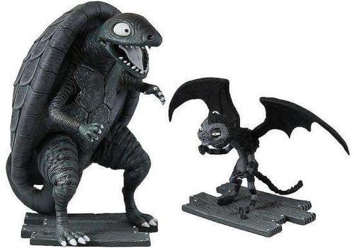 Frankenweenie Turtle Monster & Vampire Cat Mini Figure 2-Pack [Damaged Package]