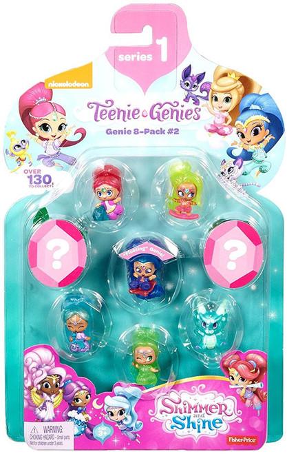 Fisher Price Shimmer & Shine Teenie Genies 8-Pack [#2]