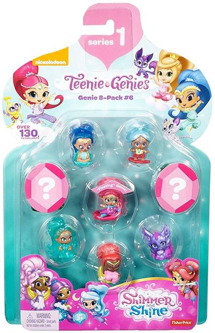 Fisher Price Shimmer & Shine Teenie Genies 8-Pack [#6]