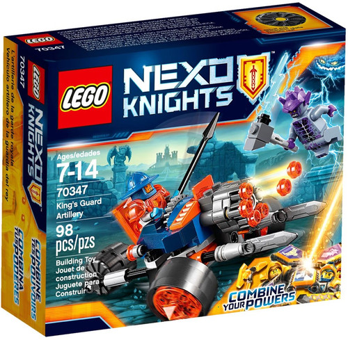LEGO Nexo Knights King's Guard Artillery Set #70347