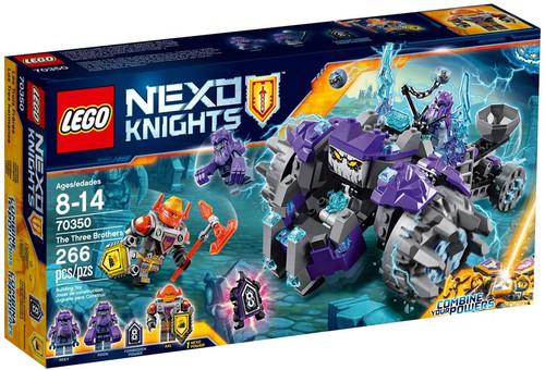LEGO Nexo Knights The Three Brothers Set #70350