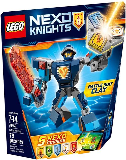 LEGO Nexo Knights Battle Suit Clay Set #70362