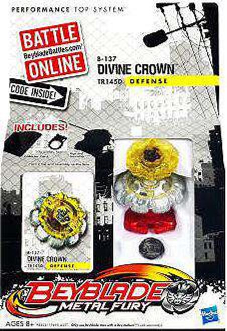 Beyblade Metal Fury Divine Crown Single Pack B-137 [Damaged Package]