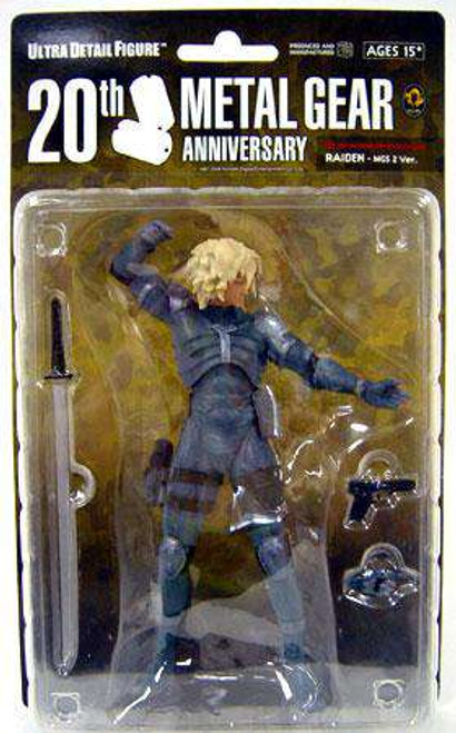 Metal Gear Solid Raiden 7-Inch Collectible Figure [MGS2, Damaged Package]
