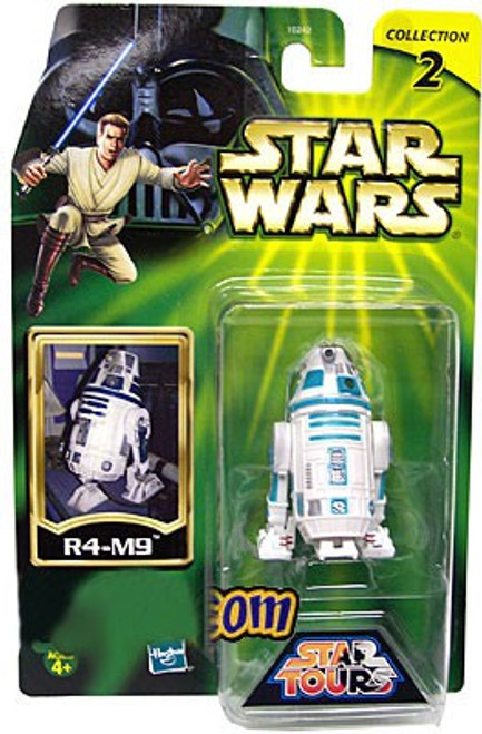 Star Wars Star Tours Power of the Jedi 2002 Collection 2 R4-M9 Exclusive Action Figure [Damaged Package]