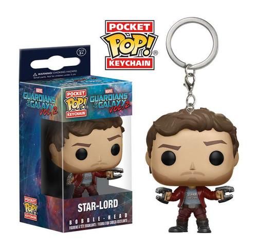 Funko Guardians of the Galaxy Vol. 2 POP! Marvel Star-Lord Keychain