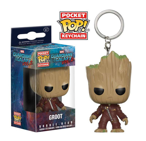 Funko Guardians of the Galaxy Vol. 2 POP! Marvel Groot Keychain [Guardians of the Galaxy Vol 2]