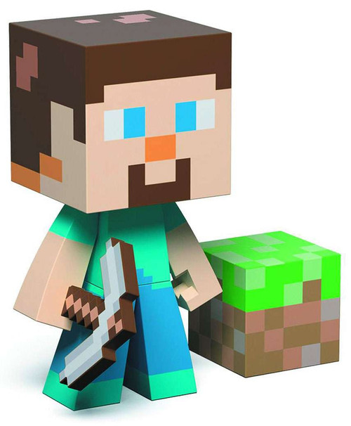 Minecraft Steve 6-Inch Vinyl Figure [Damaged Package]