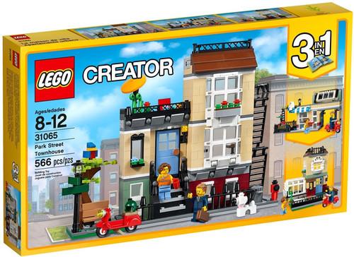 LEGO Creator Park Street Townhouse Set #31065