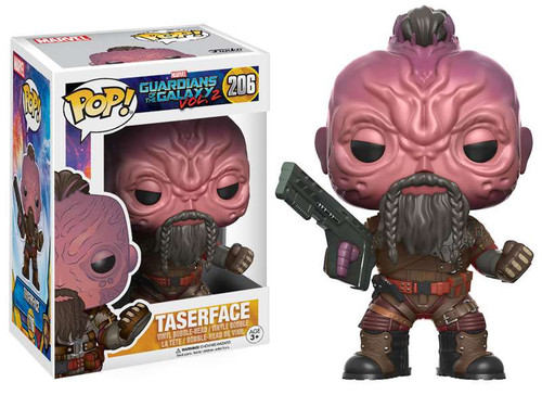 Funko Guardians of the Galaxy Vol. 2 POP! Marvel Taserface Vinyl Bobble Head #206