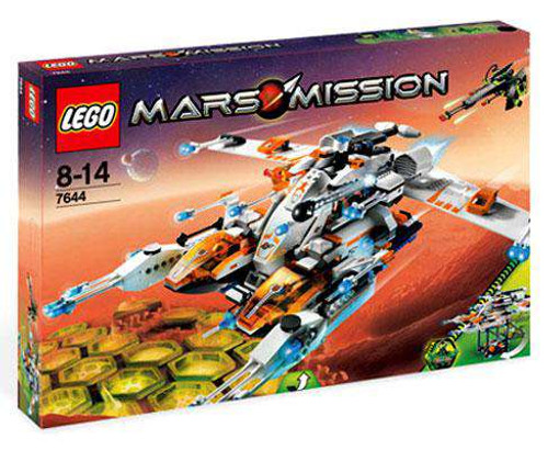 LEGO Mars Mission MX-81 Hypersonic Spacecraft Set #7644 [Damaged Package]