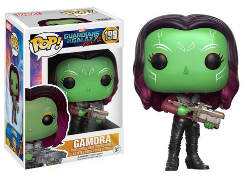 Funko Guardians of the Galaxy Vol. 2 POP! Marvel Gamora Vinyl Bobble Head #199