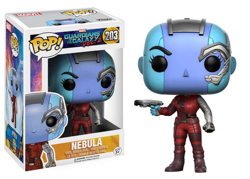 Funko Guardians of the Galaxy Vol. 2 POP! Marvel Nebula Vinyl Bobble Head #203