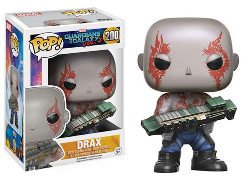 Funko Guardians of the Galaxy Vol. 2 POP! Marvel Drax Vinyl Bobble Head #200