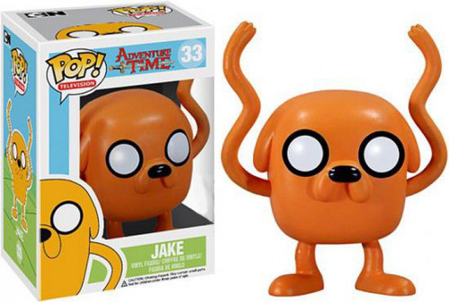 Funko Adventure Time POP! TV Jake Vinyl Figure #33 [Damaged Package]
