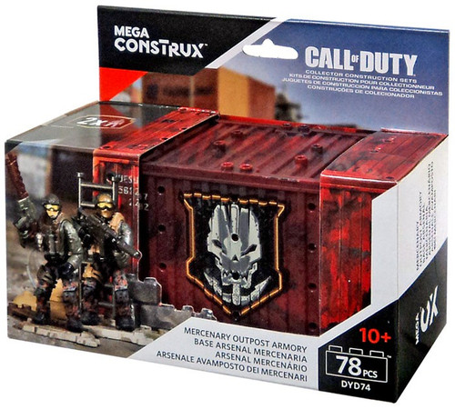 Mega Bloks Call of Duty Mercenary Outpost Armory Set DYD74