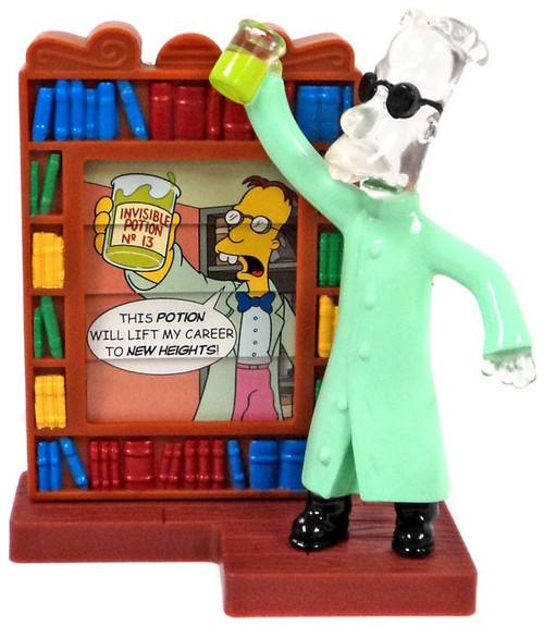 Burger King The Simpsons Creepy Classics Prof. Frink Mini Figure