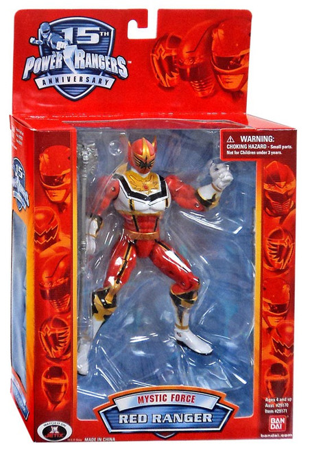 Power Rangers Mystic Force Red Ranger Action Figure [15th Anniversary Special Edition]