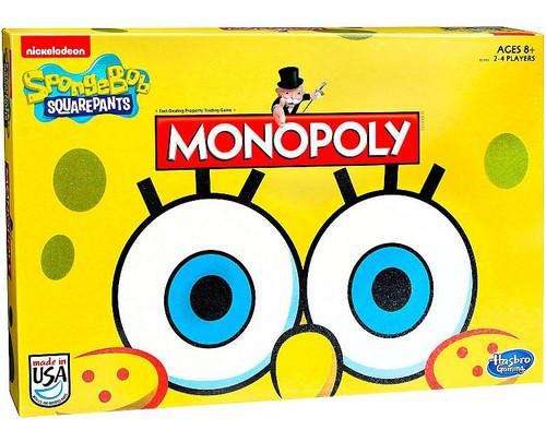 Monopoly Spongebob SquarePants Edition Board Game