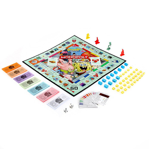 Monopoly Spongebob SquarePants Edition Board Game