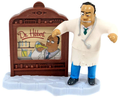 Burger King The Simpsons Creepy Classics Dr. Hibbert Mini Figure