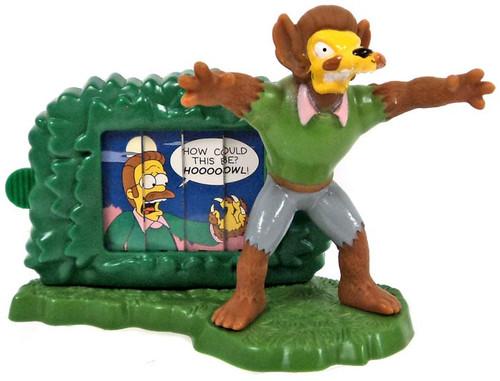 Burger King The Simpsons Creepy Classics Wolf Flanders Mini Figure