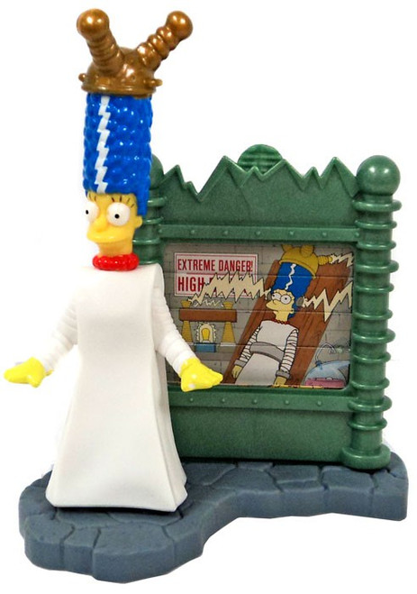 Burger King The Simpsons Creepy Classics Marge Mini Figure