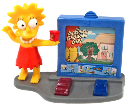 Burger King The Simpsons Creepy Classics Lisa Mini Figure