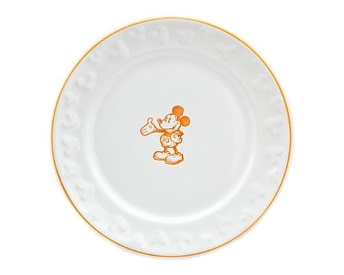 Disney Mickey Exclusive 8-Inch Ceramic Plate