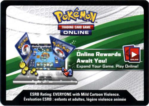 Pokemon X & Y Promo Ash-Greninja EX Box Single Online Code Card
