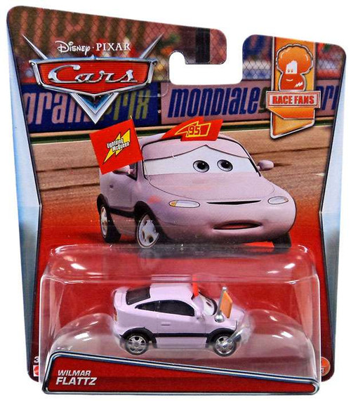 Disney / Pixar Cars Race Fans Wilmar Flattz Diecast Car #7/14