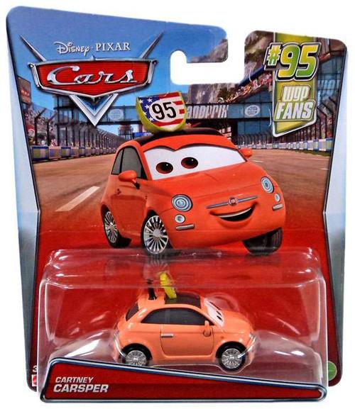 Disney / Pixar Cars #95 WGP Fans Cartney Carsper Diecast Car #4/8