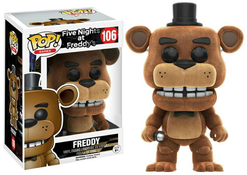 Funko Five Nights at Freddy's POP! Games Freddy Exclusive Vinyl Figure #106 [Flocked]