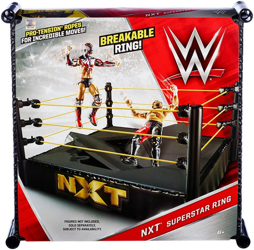 WWE Wrestling NXT Superstar Ring [Breakable]