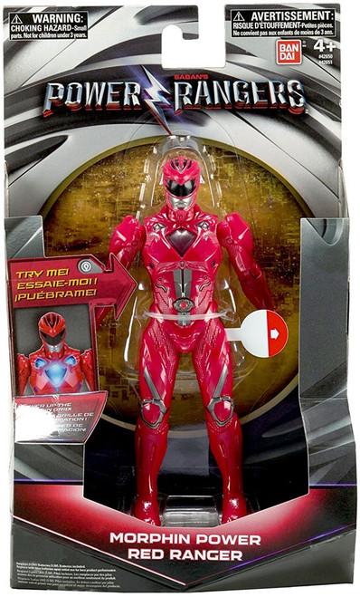 Power Rangers Movie Morphin Grid Red Ranger Action Figure